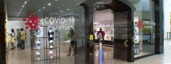 covid essentials retail store